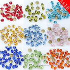 ss16 4mm color point back crystal glass rhinestone Nail Art jewelry making beads