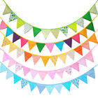 Triangle Flag Pattern Bunting Garland Hanging Wedding Party Home Decor Nice