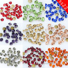 144/1440p ss22 Czech Crystal beads faceted glass Rhinestones Point Back Nail Art