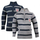 Boys Osh Kosh Awesome Stripe Zip Neck Knit Jumper 2-4 Years SALE