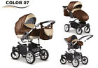 3in1 Baby  City Pram Stroller Pushchair Car Seat Carrycot Travel System Buggy