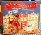 Rare: 1999 Cherished Teddies 5 Yr Members Club Le Complete Set (nib): (3) Bears