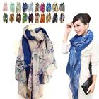 Fashion Women's Girls Soft Wrap Shawl Chiffon Scarf Long Style Voile Stole