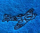 Personalised egyptian face flannel/cloth, spitfire design, £3.75 each,inc P&P