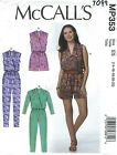 McCall's 7099 Misses' Romper and Jumpsuits   Sewing Pattern