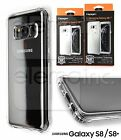 Spigen Crystal Shell Slim Bumper TPU Case Cover for Galaxy S8 S8+ Crystal Clear
