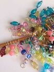 Knitterbabe Glass Bead Stitch Markers x 4 per set. Up to 5.0mm needles