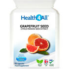 Health4All Grapefruit Seed Extract (GSE) 90 Capsules | CANDIDA DETOX & CLEANSE