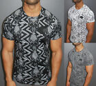 A.F.E.X D.G R&R STAR Casual Ripped Skuls Destroyed Slim Fit T-Shirt Kanye Syle