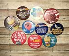 Lot Of 10 Vintage Wendy's Button Pins фото