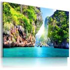 PARADISE VIEW , View Canvas Wall Art Picture Large SIZES  L176  X