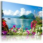PARADISE VIEW , View Canvas Wall Art Picture Large SIZES  L182  X
