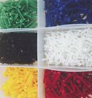 5 PACK M2 AND M3 SMALL NYLON PLASTIC SCREWS BOLT, NUT & WASHER VARIOUS COLOURS