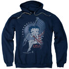 Betty Boop Proud Betty Pullover Hoodies for Men or Kids $37.3 USD