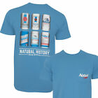 Natural Light History Lesson Tee Shirt Blue