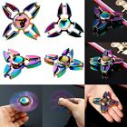 Rainbow Alloy Figet Spinner Hand Toy Spinner EDC Fidget Spinner Autism ADHD K0E1
