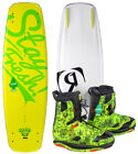 RONIX BILL ATR S 135 2016 inkl. FRANK Boots forest pine Wakeboard Set inkl.