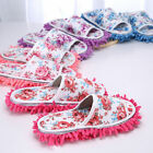 Floor Dust Cleaning Slippers Shoes Mop Non Slip House Clean Shoe Multi Function