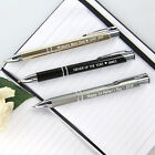 Personalised Favours Happy Father's Day Gift - Engraved Premium Ink Pen for Dad