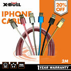 2M iPhone 5s Plus 6s 7 7 Plus Lightning Cable Data USB Charger Cord iPad 4mini