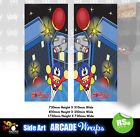 BombJack  Arcade Side Art Panel Stickers Graphics / Laminated All Sizes