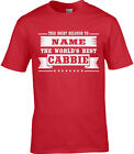 Cabbie Mens Personalised T-Shirt Gift Idea Uber Best Cab Driver Job Taxi World