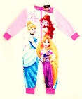 Girls Disney Princess  ALL-IN-ONE, SLEEPSUIT, PYJAMAS 2-8yrs Minor Imperfections