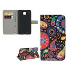 Phone Case Bookstyle Flip Cover Protective Motif Wallet art. Leather NEW