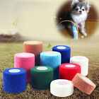 Self Adherent Wrap Tape Pet Horse Dog Cat Vet Wound Non-woven Elastic Bandage