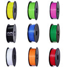3D Printer Filament 1.75mm PLA 1KG/Roll Colours Engineer Drawing Art US