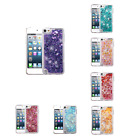 For Ipod Touch 5th/6th Gen Liquid Bling Glitter Hybrid Protector Case Cover