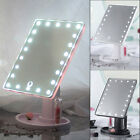 22 LED Touch Screen Makeup Mirror Tabletop Cosmetic Vanity light up Mirror UK