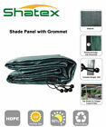 Shatex 90% Frost Green New Design Sun Shade Privacy Panel w/ Grommets