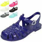 Girls Spot On Closed Toe Jelly Sandals - H2309