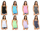 60 Pack Fashion Womens Burnout Workout Racerback Tank Top Wholesale Lot
