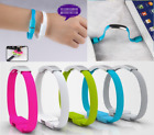 Mini Short Flat Bracelet Micro USB 2.0 Sync Data Charger Cable for Android  1PC