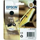 Epson T1621 Black Genuine Original Ink Cartridge C13T16214010