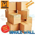 "8x6x4"" SMALL SINGLE WALL SHIPPING CARDBOARD BOXES"
