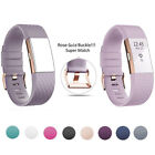 UK FitBit Charge 2 Strap Replacement Band Rose Gold Bracelet Wristband Accessory