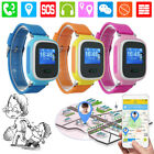 Anti-strayed Smart GPS SOS Children Tracker Wrist Watch Phone Q60 For Android IOS