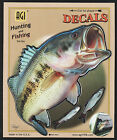 Large Mouth Bass Decal Sticker Right Left Facing Boats Trucks Fishing Fish