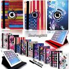 Leather 360 Rotating Stand Case Cover For iPad 234/ Mini 1234 / Air 1 2 /Pro 9.7