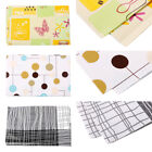 Vinyl Table Cloth Wipe Clean Home Decor Cover Protector Woven Dining