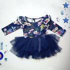Toddler Newborn Infant Baby Girl Long Romper Bodysuit Jumpsuit Clothes Outfits