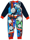 Boys Thomas The Tank Engine Percy Fleece Sleepsuit 18 Months to 5 Years