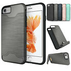 Credit Card Stand Holder Shockproof Hard Phone Case Cover For iPhone 6 6s 7 Plus