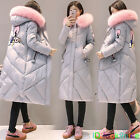 2017 Winter Women's long Down Cotton Ladies Parka Hooded Coat Quilted Jacket
