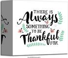 Always Something To Be Thankful For Art Print Home Decor Wall Art Poster - C