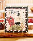recipe binders - COUNTRY STYLE RECIPE KEEPER BINDER RECIPE CARD PAGE PROTECTOR SET OR REFILL SET