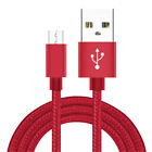 2/4/6FT Micro USB Nylon Braided Fast Charging Data Cable For Samsung HTC Android